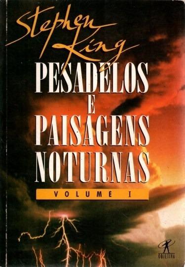 Livro Pesadelos E Paisagens Noturnas Vol.1 Stephen King