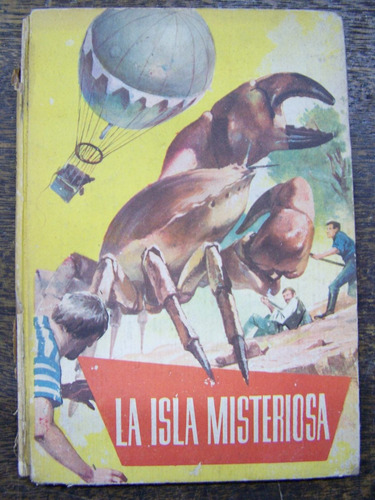 La Isla Misteriosa * Julio Verne * Dibujos De Lombardia *