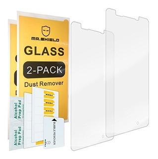 2pack Shield Para Microsoft Lumia 950 Vidrio Templado Prote
