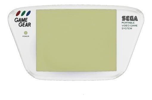 Proteção Da Tela Game Gear Na Cor Branca