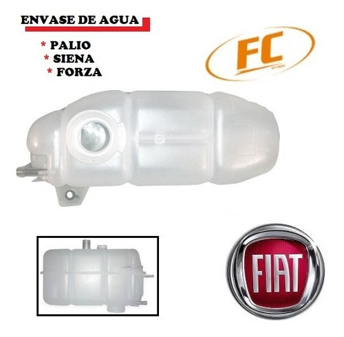 Envase Refrigerante Fiat Palio Siena Forza 1 Pata
