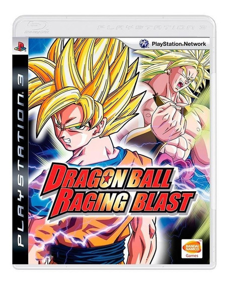 Dragon Ball Raging Blast Ps3 Mídia Física Pronta Entrega