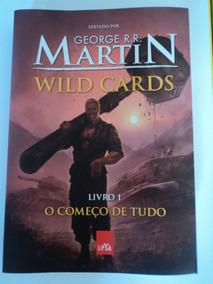 Livro-wild Cards:vol.1-o Começo De Tudo:george R.r.martin