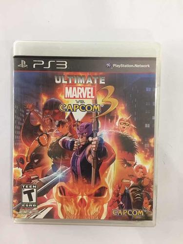 Ultimate Marvel Vs Capcom Ps3