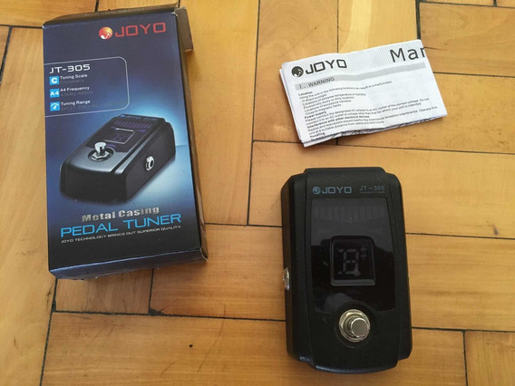 Pedal Afinador Joyo Jt-305 / Impecable Con Caja Y Manual