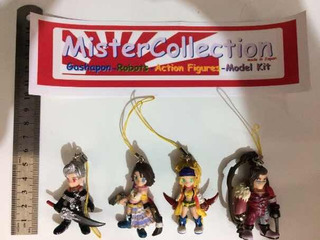 Lote 8 Chaveiros Final Fantasy Bandai Importados