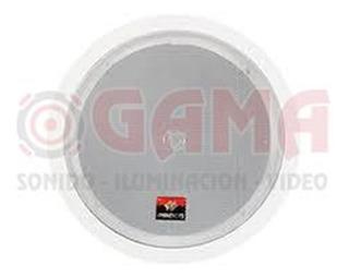 Parlante Cielo Raso Dual Cone 6.5 20w. 8 Ohms C/trafo Blanco