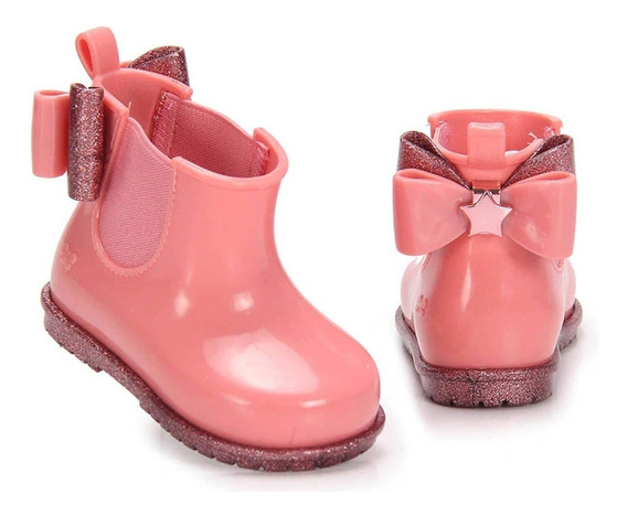 Galocha Infantil Zaxynina Boot Baby Zaxy Rosa Chiclete