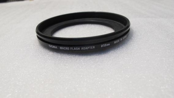 Adaptador Fotografia Macro Flash 58mm