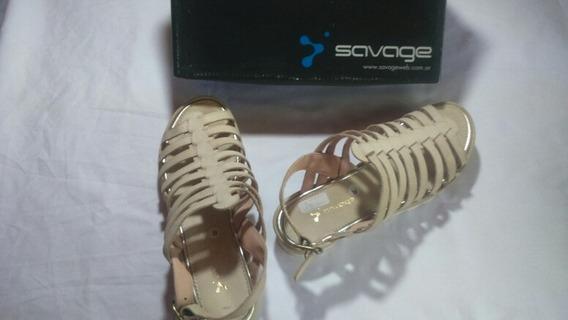Sandalias Talle 39 Savage