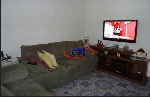 Casa Com 2 Dormitórios À Venda, 250 M² - Centro - São Bernardo Do Campo/sp - Ca0371