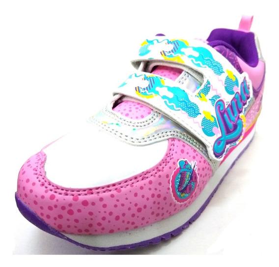 Zapatillas Deportivas Disney Soy Luna Con Abrojo