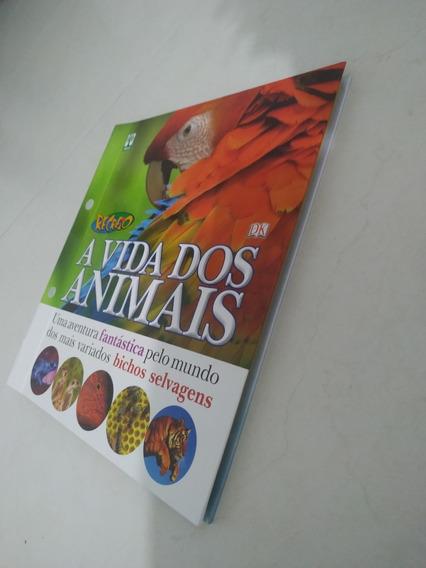 Livro Recreio A Vida Dos Animais - Completo ( Semi Novo )