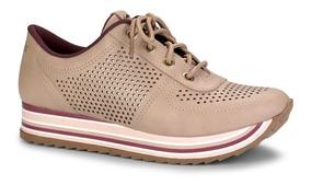 Tênis Dakota Flatform Sneaker G0531 G0911 Feminino Sola Alta