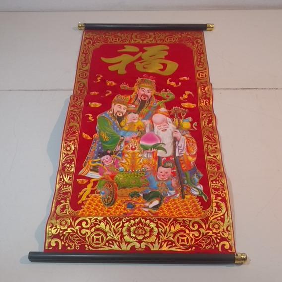Pergamino Decorativo Asiatico