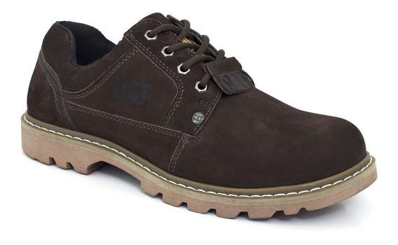 Sapato Sapatênis Bota Caterpillar Masculina D Couro Legítimo