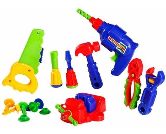 Kit Ferramentas Infantil Completo 16 Pçs Calesita 457