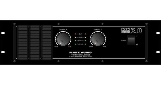 Amplificador 3000w 2 Ohms Mk 3.0 - Mark Audio