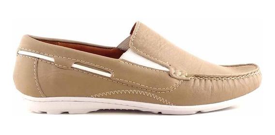 Náutico Hombre Mocasín Cuero Briganti Zapatos Hcna01288
