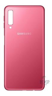 Tampa Traseira Vidro Samsung Galaxy A7 2018 Sm-a750 Original