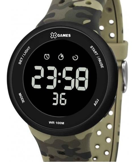 Relógio X-games Masculino Digital Camuflado - Xmppd486 Pxef