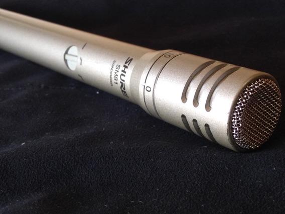 Microfone Condensador Shure Sm81 Usado