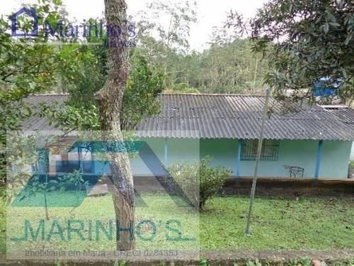 Chácara Para Venda Em Mauá, Recanto Vital Brasil, 4 Dormitórios, 6 Banheiros, 20 Vagas - 162_1-1413228
