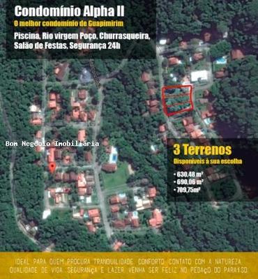 Terreno Para Venda Em Guapimirim, Limoeiro - 155