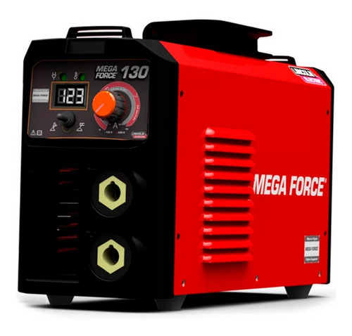Imagem 1 de 5 de Máquina Inversora De Solda 130a Mega Force Bivolt Lincoln