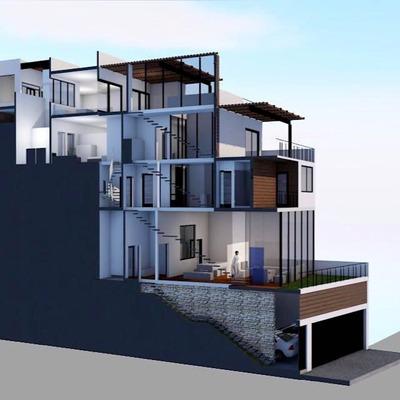 Colonia Vistahermosa,casa 4 Cuartos Y Roof Garden En Privada