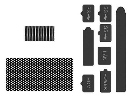 Imagen 1 de 11 de Kit De Filtro De Polvo A Prueba De Polvo Accesorios De