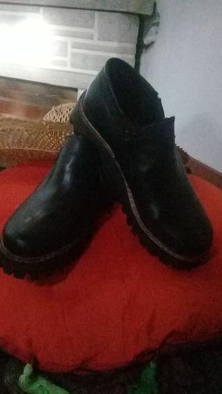 Botas Dama Shoes & Boots Cuero Talle 37 Nuevas!!!