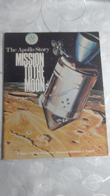 Revista The Apollo Story Mission To The Moon Em Inglês 1969
