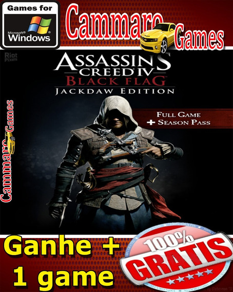 Assassins Creed Iv: Black Flag Jackdaw Edition + 3 Games