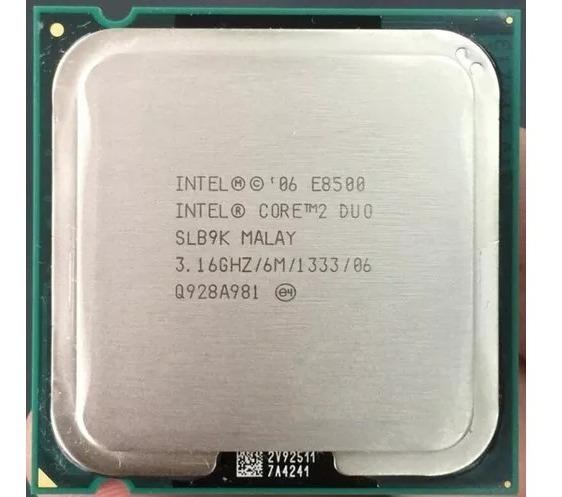 Processador Core 2 E8500 316ghz 6mb Fsb 1333mhz Lga 775