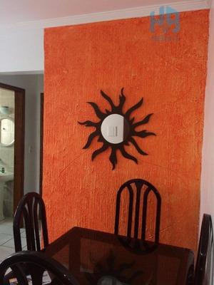 Apartamento Residencial Para Locação, Canto Do Forte, Praia Grande. - Ap0695