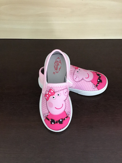 Sapatinho Infantil Personagem Peppa Pig Tenis Kids Calçado