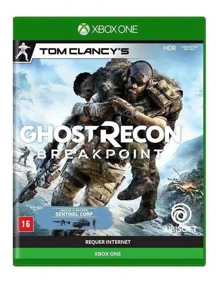Ghost Recon Breakpoint Xbox One Mídia Física Português Novo