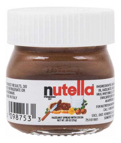 Imagen 1 de 2 de Nutella Mini 25gr Caja 64 Unidades. Oferta Oferta