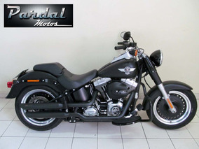 Harley Davidson Softail Fat Boy Especial 2016 Preta Fosca