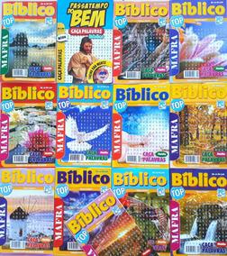 100 Caça Palavras Bíblico Evangélico Atacado Promoção