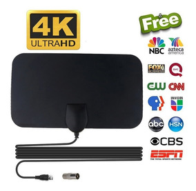 4k 25db Alto Ganho Hd Tv Dtv Caixa Antena Tv Digital 50 Mile