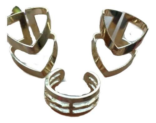 Anillos Midi Ring Tendencia Accesorios Femeninos