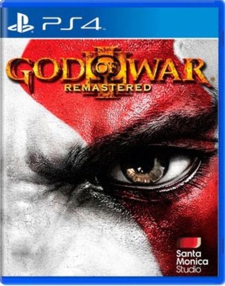 God Of War 3 Ps4 Mídia Física Totalmente Em Português
