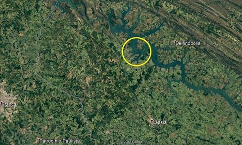Excelente Area Para Venda Em Cássia - Delfinópolis - Mg, Com 28 Hectares E Mais De 1 Km De Margem Para Represa Do Peixoto Furnas Região Do Itambé - Ar00009 - 34701413