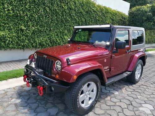 Imagen 1 de 14 de Jeep Wrangler 2008 Sahara 4x4 Impecable Factura Original