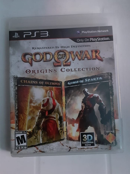 God Of War Oringins Collection, Ps3, Mídia Física