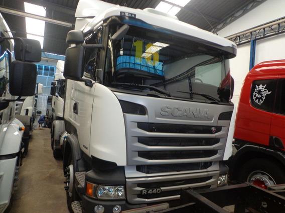 Caminhão Scania R-440 2016/16 Truck 6x2 Branca Nova