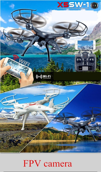 Drone X5sw-1 Wifi Rcfpv Original Com Camera - Liquidação