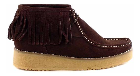 Bota Cuero Briganti Zapato Mujer Confort Gamuza Mcbo24779 07